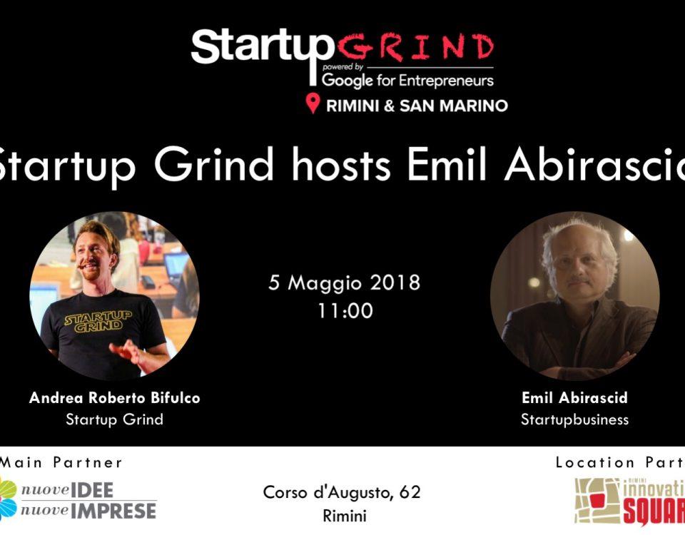 Emil Abirascid, il guru delle startup italiane incontra idee ed imprese il 5 maggio a Rimini