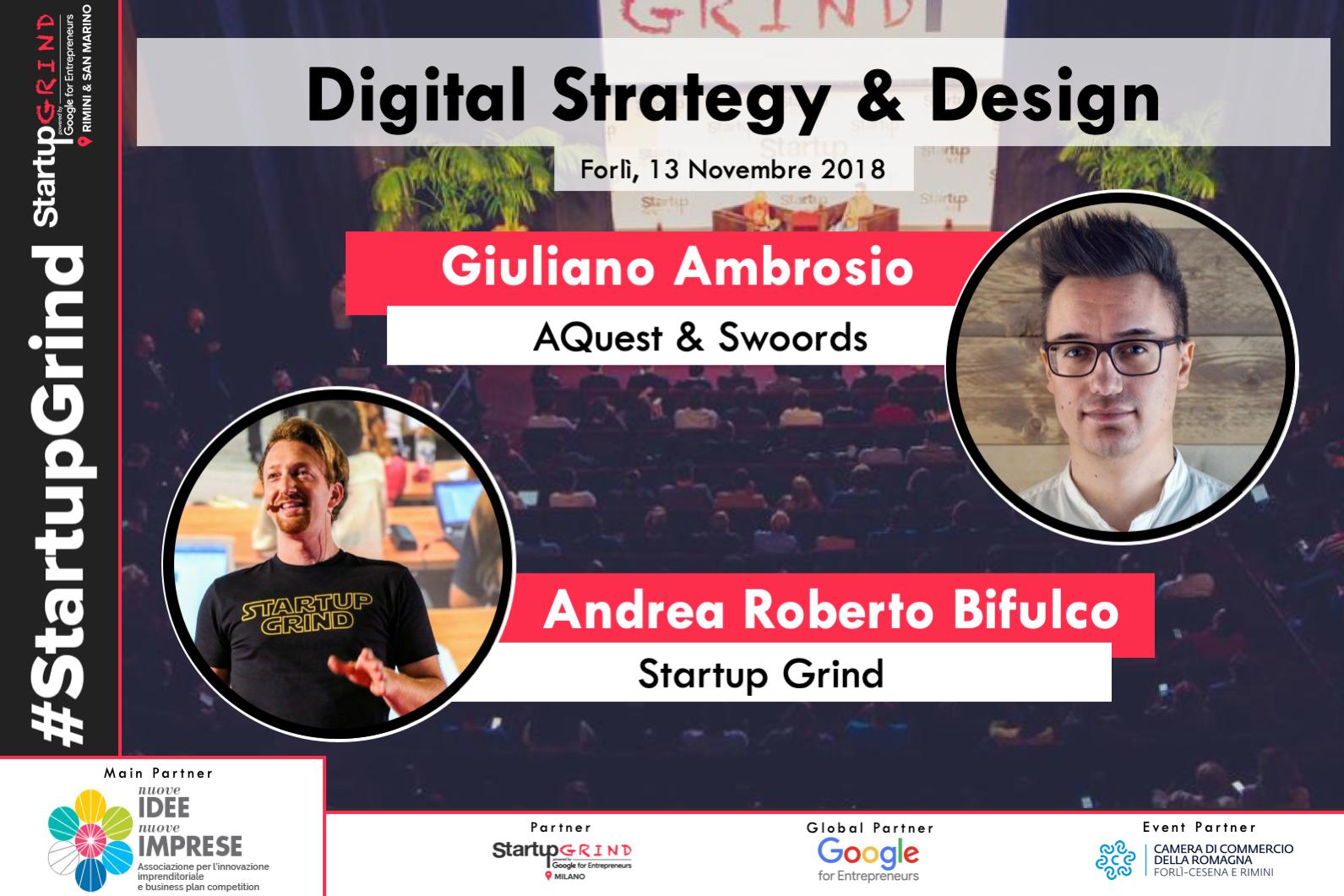 SG RSM Forli - Evento Startup Grind Martedì 13 Novembre ore 18:30 - Forlì