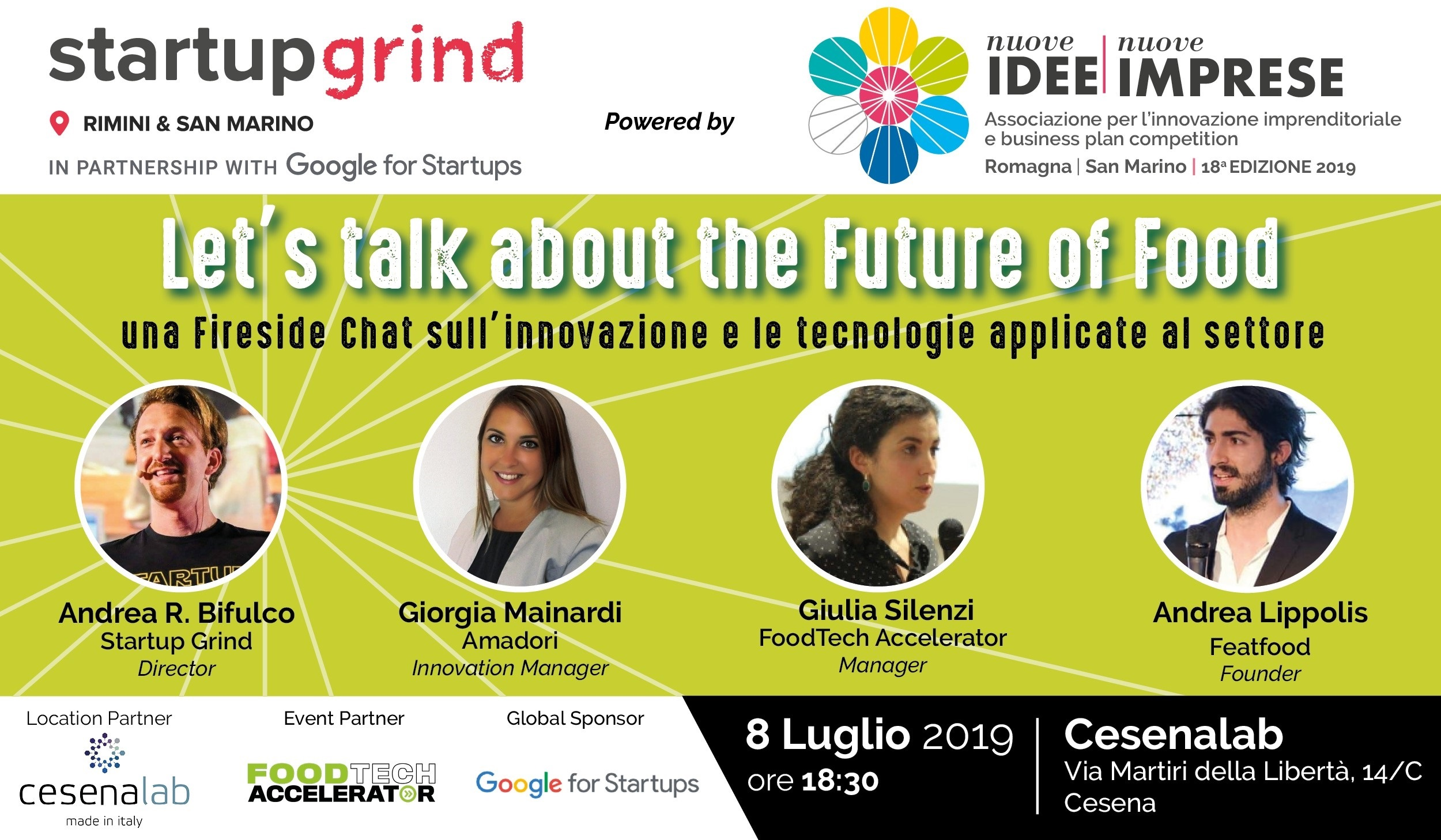 SGRSM 8luglio - Let's Talk about the Future of Food