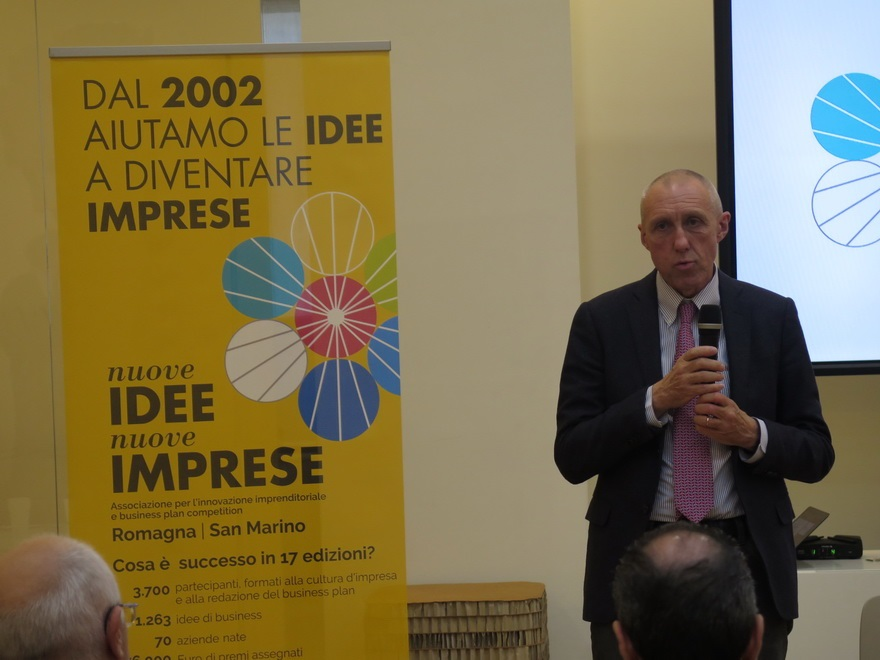 Maurizio Focchi Presidente Assciazione Nuove Idee Nuove Imprese - Il 9 dicembre la finale di Nuove Idee Nuove Imprese 2019