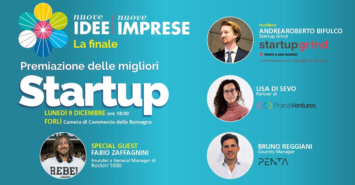 Il 9 dicembre la finale di Nuove Idee Nuove Imprese 2019
