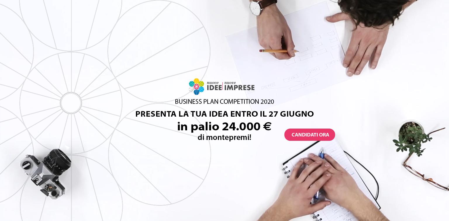 Nuove Idee Nuove Imprese 2020: al via la 19^ edizione